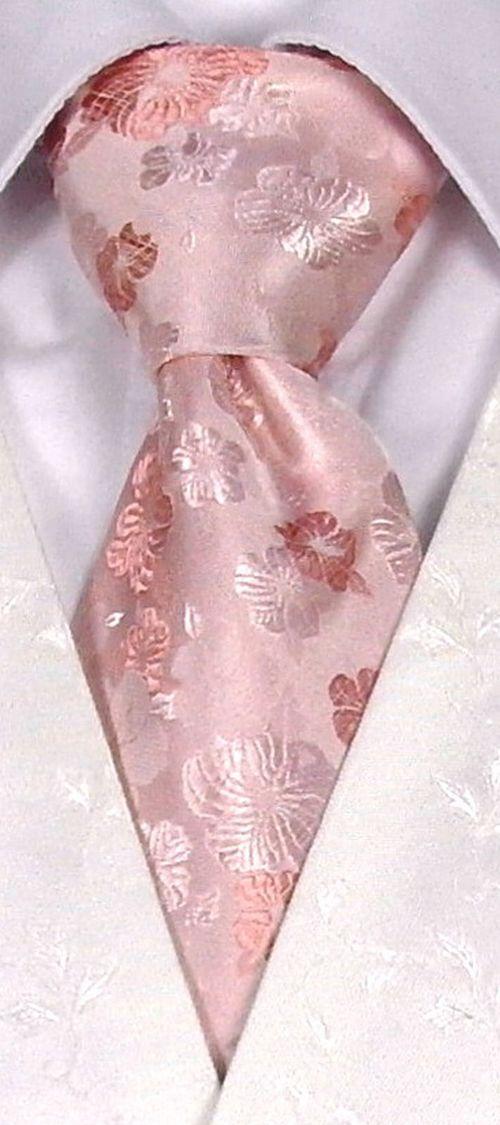 Pink Floral Tie, STEPHEN BISHOP