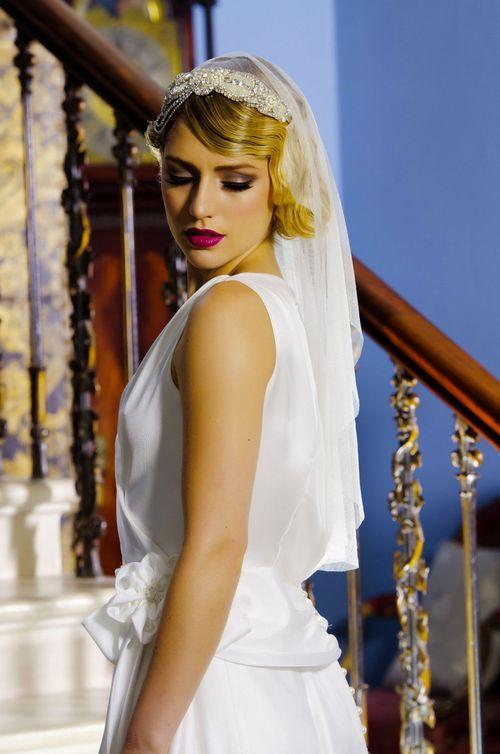 Emilie Headpeice, Visionary Veils