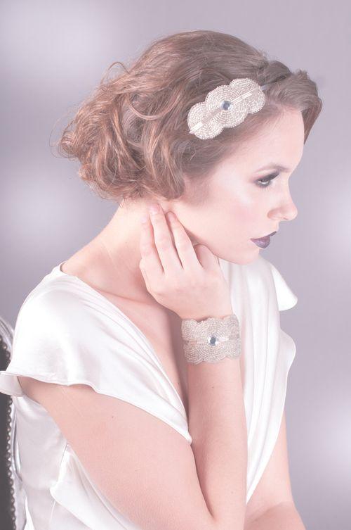 Florence Headband Silver, Britten