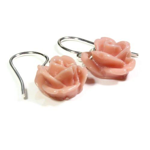 Dusky Rose Earrings, Totally Cherished