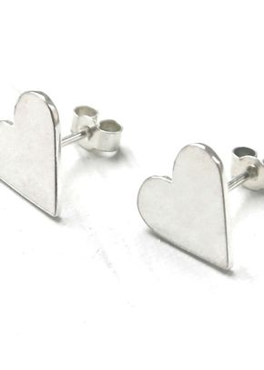 Heart Studs, Totally Cherished