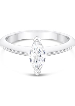 2mm Knife Edge 2 Claw Engagement Ring Mount, Aurus