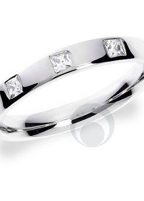 Princess Cut Diamond Platinum Wedding Ring, The Platinum Ring Company