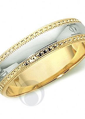 18ct Gold & Platinum Wedding Ring, The Platinum Ring Company