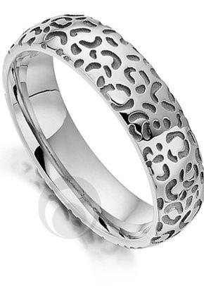 Big Cat Cheetah Platinum Wedding Ring, The Platinum Ring Company