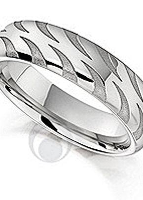 Unique Patterened Platinum Wedding Ring, The Platinum Ring Company