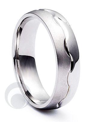 Combination Platinum Wedding Ring, The Platinum Ring Company