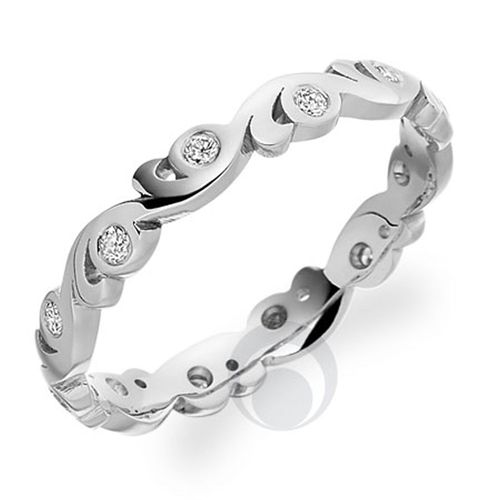 Diamond Platinum Wedding Ring, The Platinum Ring Company