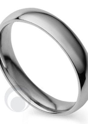 Plain Court Platinum Wedding Ring 2, The Platinum Ring Company