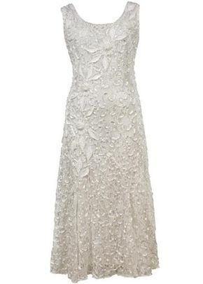 Ivory Lace Cornelli Embroidered Dress, Chesca