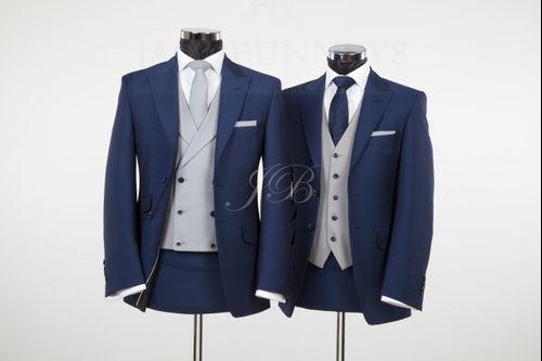 York - Vintage Wedding Suit – Blue from Jack Bunneys 3, Jack Bunneys