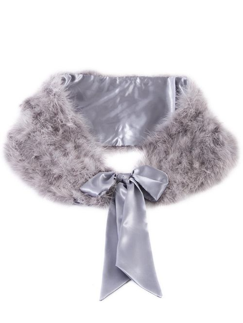 Grey Feather Marabou, Chesca Accessories