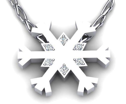 Snow Flake, Goldfinger Rings