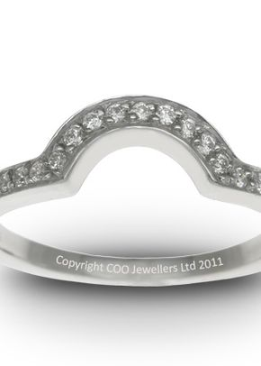 Shaped Wedding Ring 2, COO Jewellers Hatton Garden