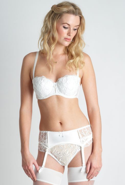 Bouquet Multiway & Suspender, The Bra Closet