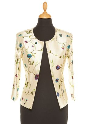 Silk Jacket Women Juna Porcelian, Shibumi