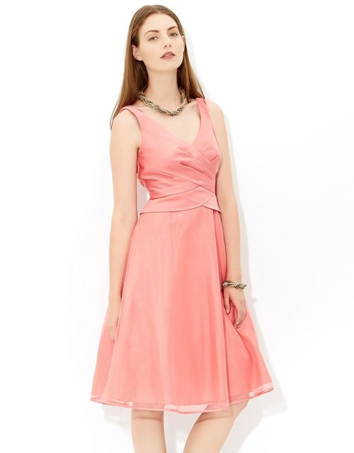 Bonnie Tulle Dress in Pink (Coral), Monsoon Accessories