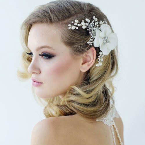 Miriam Flower Hair Accessory, Zaphira Bridal