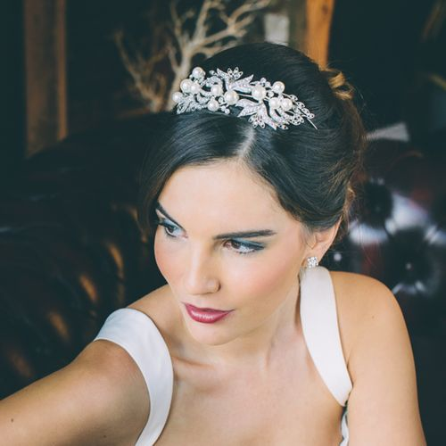 HV44 Pearl & Crystal Bridal Hair Peice, Aye Do Wedding Accessories