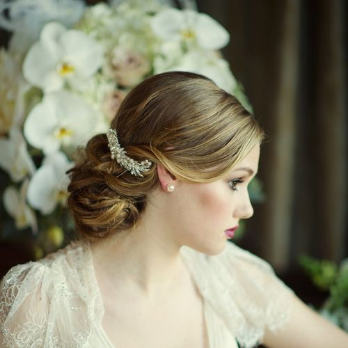Ruby Hair Comb, Aye Do Wedding Accessories