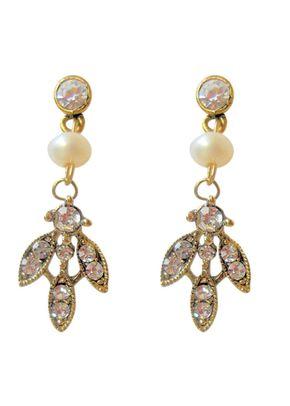 Paris Earrings - Gold, Aye Do Wedding Accessories