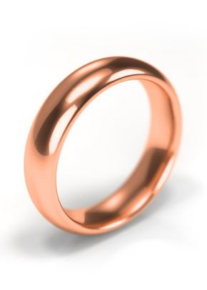 18ct Rose Gold Wedding Ring 5mm Band, House of Diamonds