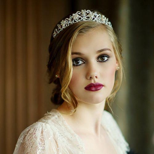 Lorena Pearl Tiara, Aye Do Wedding Accessories