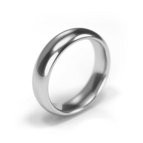 Platinum 950 Wedding Ring 5mm Band, House of Diamonds