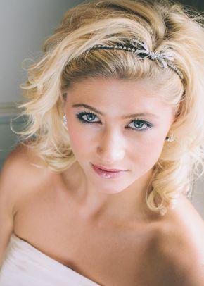 GMG934 - Cute Bow Side Tiara, Aye Do Wedding Accessories