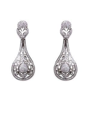Silver Screen Earrings, Aye Do Wedding Accessories
