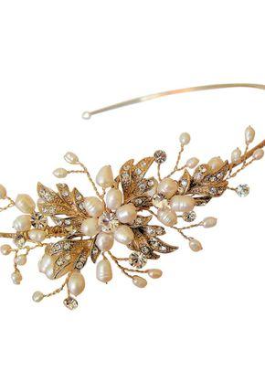 Paris Side Headband - Gold, Aye Do Wedding Accessories