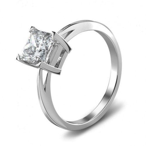 Engagement Ring - Aurora Princess Cut Diamond Solitaire, House of Diamonds