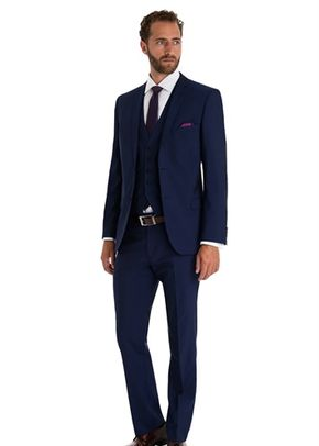 TED BAKER TAILORED FIT BLUE MIX AND MATCH SUIT JACKET, Moss Bros