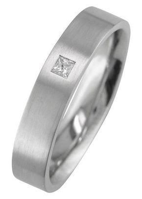 5mm Men's Princess Cut Diamond Wedding Ring, London Victorian Ring Co
