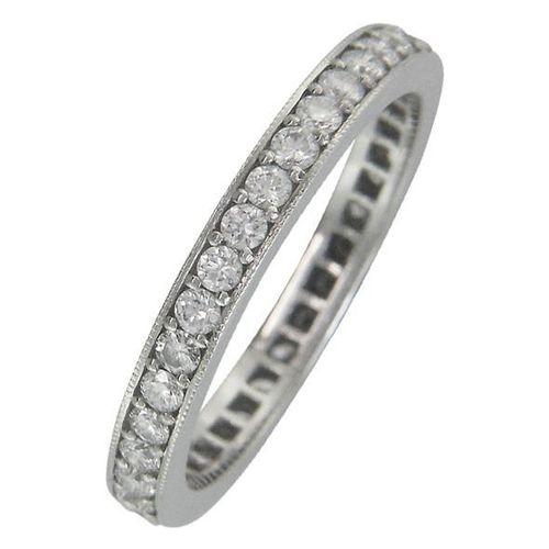 Vintage Style Diamond Wedding/Eternity Ring, London Victorian Ring Co