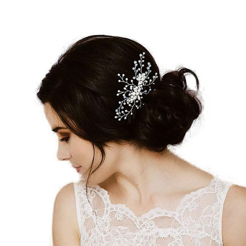 Brindley bridal hair comb, Lily Houston