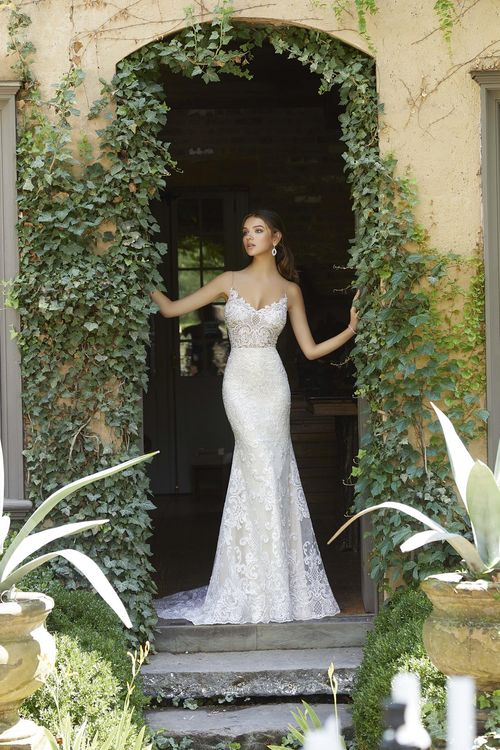 5704, Blu by Mori Lee