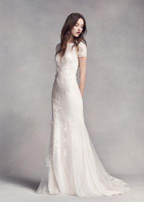 White by Vera Wang VW351312, WHITE by Vera Wang at David's Bridal
