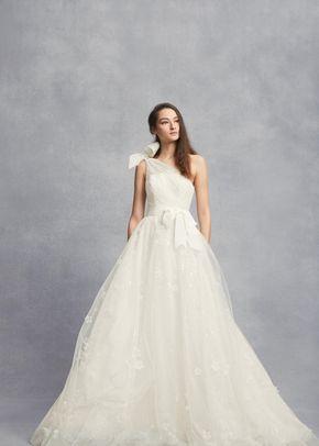 White by Vera Wang VW351432, WHITE by Vera Wang at David's Bridal