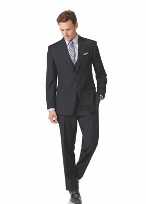 Charcoal fit navy wool perfect blazer, Charles Tyrwhitt