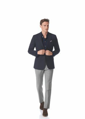 Slim fit navy wool perfect blazer, Charles Tyrwhitt