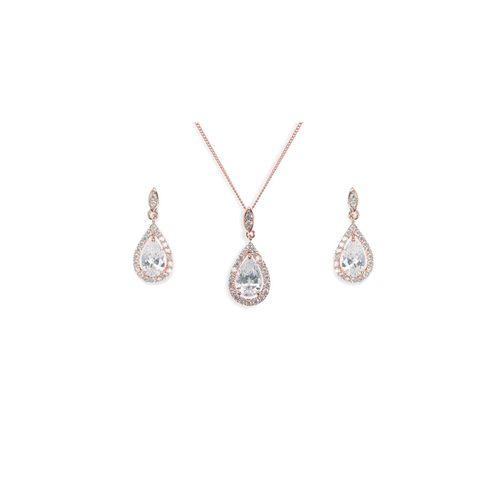 Belmont Rose Set, Ivory & Co Jewellery