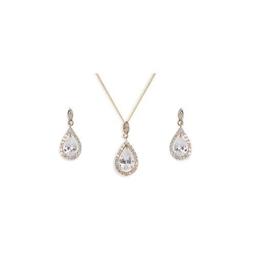 Belmont Gold Set, Ivory & Co Jewellery