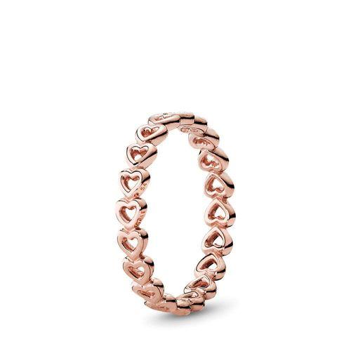 Rose linked love ring, Pandora