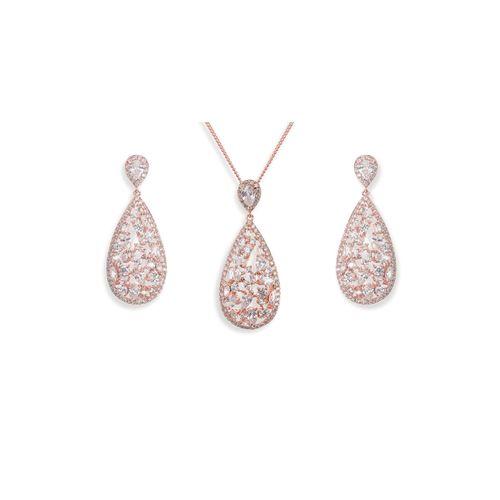 Pasadena Rose Set, Ivory & Co Jewellery