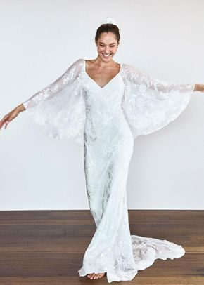 Loyola sleeve gown, Grace Loves Lace
