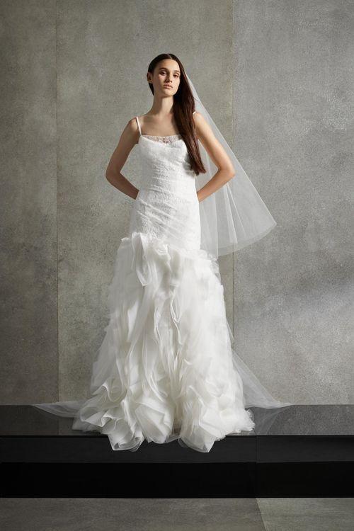 WHITE by Vera Wang VW351506, WHITE by Vera Wang at David's Bridal