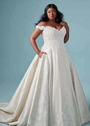 sheridan wedding dress from maggie sottero  hitchedcouk