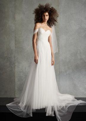 WHITE by Vera Wang VW351510, WHITE by Vera Wang at David's Bridal