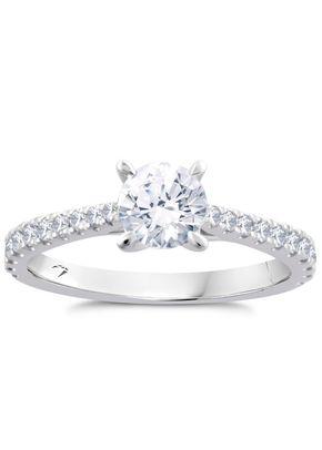Arctic Light Platinum 1ct Total Diamond Ring, Ernest Jones